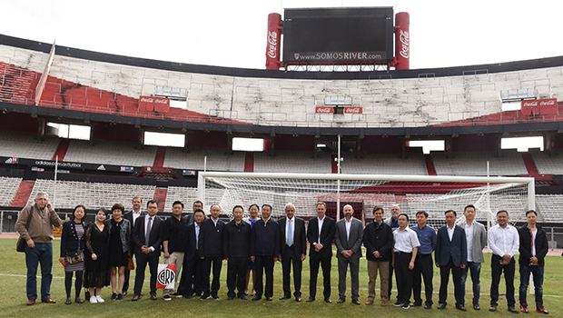 River recibió la visita de una importante empresa china