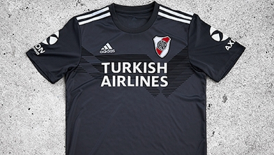 La nueva camiseta alternativa gris de River Plate