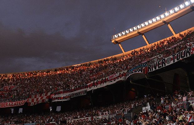 New lights at the Monumental Stadium