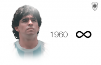Condolences on the passing of Diego Maradona