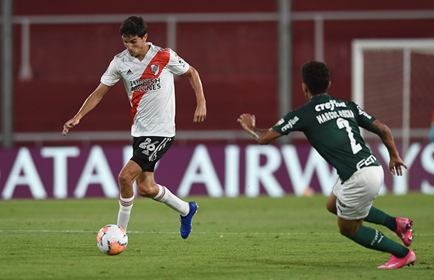 River couldn't win the first leg against Palmeiras