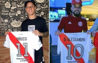 D'Alessandro and Driussi: two ambassadors with the new jersey